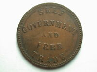 Canada 1857 Prince Edward Island Half Penny Token