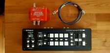 ROLAND V-1SDI Mixer Switcher Pro Broadcast Video + LINEARSCREEN CONVERTER