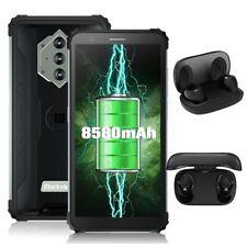 Blackview BV6600 8580mAh 64GB+4GB Handy 4G Smartphone 2021 Octa Core mit Earbuds