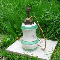 Antique Lamp Porcelain, Art Deco