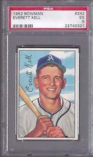 1952 Bowman #242 Everett Kell Philadelphia Athletics Professional Graded PSA 5