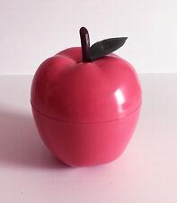 BAC à Glaçons  Pomme ROSE   avec feuille   Seau à glace an 70's sep14