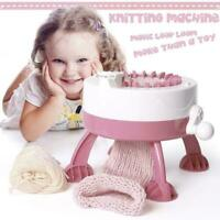22 Needle Hand Knitting Machine Weaving Loom For Scraf Hat Kids Toy Gift