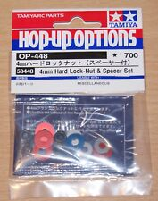Tamiya 53448 4mm Hard Lock-Nut & Spacer Set (TT01/TT02/TA07/TB05/TRF418/TRF419)