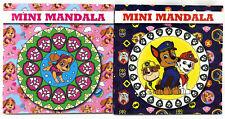 Paw Patrol Kinder Malbuch Mini Mandala Malblock Unterwegs Reisen Pocket + Stifte