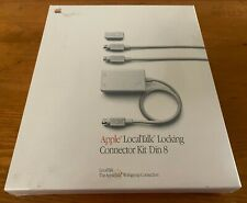New Sealed 1987 Apple Computer LocalTalk Locking Connector Kit Cable DIN8 M2068