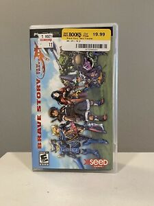 Brave Story: New Traveler (Sony PSP, 2007) Complete - Fast Free Shipping