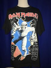 vintage 1990's Iron Maiden Eddie Mummy T-SHIRT shirt UNUSED XL Powerslave