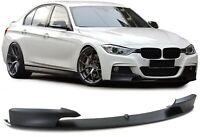 For BMW F30 F31 Front bumper M spoiler performance Sport LIP splitter chin addon