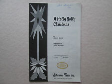 A HOLLY JOLLY CHRISTMAS Sheet Music S.S.A. Johnny Marks SOPRANO ALTO Vocal