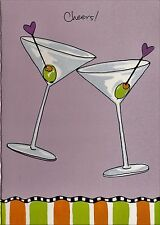 Anniversary Card Occasional Cards From Anyone Cheers Martini