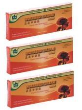 3 Boîte Ganoderma Lucidum Reishi Champignon Lingzhi Liquide Oral Extrait 30