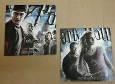 Two DVDs Harry Potter and the Half-Blood Prince. Preview dvd's 1 & 2. Promos