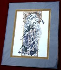 FANTASY ART BY 'NORI TIMS THOMAS' DATED 6/97 ~ NEW & MATTED
