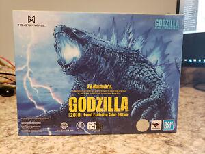 SH Monsterarts 2020 SDCC Event Exclusive Godzilla Color Ed (2019), New, MIB