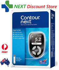 NEW Contour Next Blood Glucose Meter Bayer Monitoring System