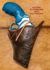 Gary Cs Western Hand Carved Rh Holster Sampw L Frame 3 Slight Butt Forward Cant