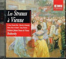 CD album: les Strauss à Vienne. Boskovsky. EMI 2cds. C1.
