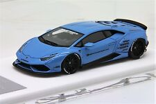 1/43 Davis Giovanni Liberty Walk LB Huracan Light Met Blue Free Shipping/ MR BBR