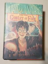Harry Potter And The Goblet of Fire 1st American Edition *New*