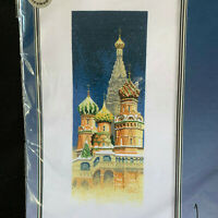 John Clayton International St. Basil's Cathedral Counted Cross Stitch
