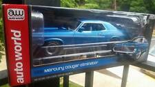 1:18 Autoworld 1969 Mercury Cougar Eliminator, production chassis, #645 of #1254