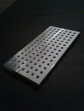 "Sacrificial fixture plate or mini pallet - 4"" x 8"" - taig, sherline, mini mill"