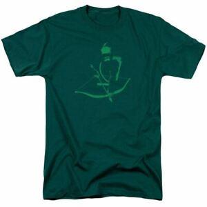 Green Arrow Arrow Min T Shirt Mens Licensed DC Comic Tee Hunter Green