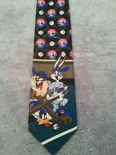 Montreal Expos Looney Tunes  100 % Polyester Canada Made Tie