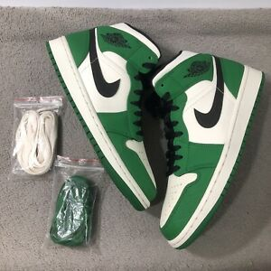 Jordan 1 Mid Pine Green - Size 9 - 852542 301