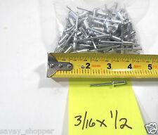 Pop Rivet 100 Pc 316 X 12 Inch Aluminum Head Steel Mandrel Pop Rivet