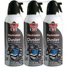 Dust-Off Air Computer TV Disposable Compressed Gas Duster, 10-oz. XL 3 pack
