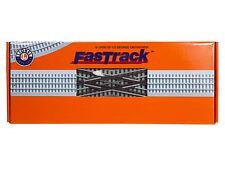 Lionel FasTrack 6-12050 O Scale 22 1/2 Degree Crossover MIB