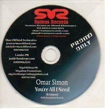 (748K) Omar Simon, You're All I Need - DJ CD