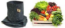 5 Root Pouch gris 4L Pot Géotextile Smart grow Pot guerilla jardin indoor fleurs
