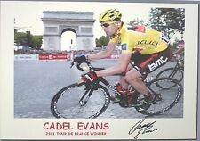 CADEL EVANS signed Print