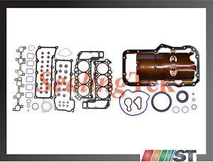 Fit 2002-05 Dodge Jeep 3.7L V6 226ci Engine Full Gasket Set Power-Tech motor kit