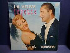 MARCEL MERKES PAULETTE MERVAL La veuve joyeuse OCE1032