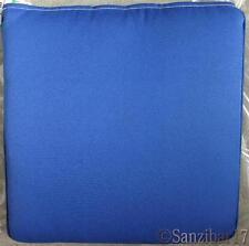 New John Lewis 100% Olefin Lapis Blue Neptune Padded Outdoor Garden Seat Cushion