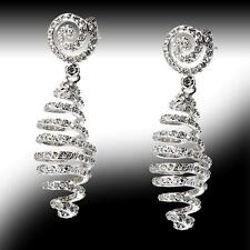 New Vero Vicenza Bright Spiral Earrings