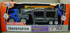 Mattel Matchbox R/C Radio Control Transporter -Blue  *new* r/c made easy