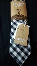 OTTA Australia Tie - Gingham Linen Tie plus Lapel Pin