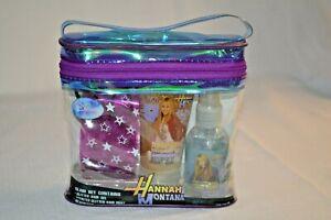 HANNAH Montana GLAM 4 PC Set Glitter HAIR Gel & Mist HEADBAND Tote COLLECT New
