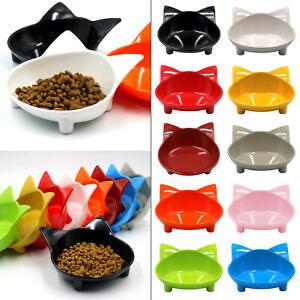 Cat Food Bowls Non-slip Dog Pet Food Bowls Dish Feeding Wide Bowl Plate Utensil