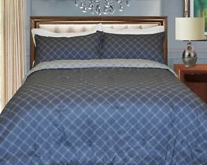 Luxury Lines Microfiber Reversible Comforter Set