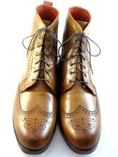 """NEW Allen Edmonds """"DALTON"""" Wingtip Dress Boots 15 D Walnut (346)"""
