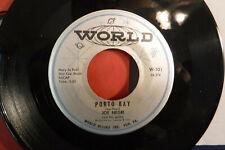 Joe Negri, So Blue / Porto Bay, World Records W 101, JAZZ, Guitar