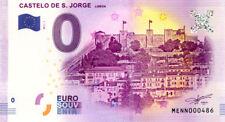 PORTUGAL Lisbonne, Castelo de S. Jorge, N° de la 5ème, 2017, Billet 0 € Souvenir