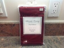"""New Ultimate Luxury Hotel Collection Sateen RED Euro Sham 26""""X26""""- NIP- MSRP-$35"""