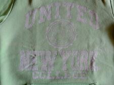 sweat à capuche vert pâle 12 ans